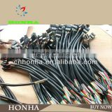 auto AMP custom iso connector cable assembly molex female and male electronic dc power automoitve wire harness stereo connector                                                                         Quality Choice