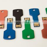 16GB Metal Colorful Key Flash Drive USB 2.0 Memory U Disk Thumb Pen Stick