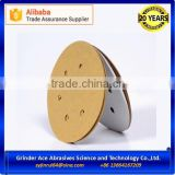 125mm Gold Hook and Loop Abrasive Paper Discs for Sanding Car