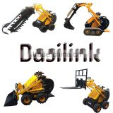 Factory Price Mini Electric Skid Steer Loader 300 to 400kg bucket capacity