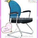 2016 YouYou leather reception chair office chair mesh back support swing back chair AB-315-1