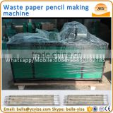 Big capacity waste newspaper pencil making machine,pencil making machine production line,paper pencil rolling machine