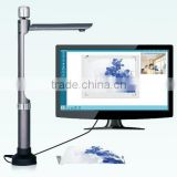 portable digital high resolution 5 mega audio visual document camera work with overhead projectors