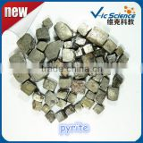 High density without Angle dodecahedron iron pyrite ore fools gold samples for sale