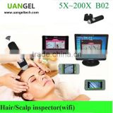 microscopic hair strand test analysis equipment for human hair