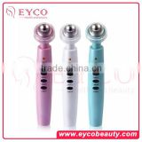 Electric ionic vibration cosmetics surgery eye massager for eye bag under eyes circles wrinkle remove