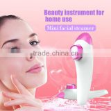 2016 New trending big capacity hair and facial steamer with 12ML