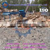 wood sawdust crushing machine waste wood pallet crusher with nails removed 0086-13703827012
