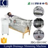 Far infrared heated blanket electric muscle stimulator lymphatic drainage sauna suit air pressure machine