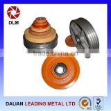 China Manufacturer OEM Iron Casting Pulley Wheel