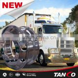 MACHINE AND POLISHED FORGED ALUMINUM TRUCK WHEEL 22.5*8.25