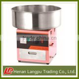 commercial cotton candy machine gas and electric type have CE standard
