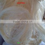 factory price!! 100% Natural raw sisal fiber/UG sisal fibre /bleaching sisal fiber for Gypsum