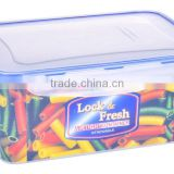 3600ml clear plastic vacuum containers/BPA free container/fresh food box/vacuum seal containers