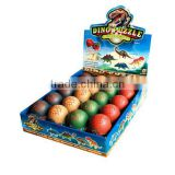 PVC glowing dinosaur eggs water toy eggs hatching dinosaur egg/ for kids