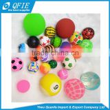 Classic Toys 27mm 32mm 45mm pink bouncing rubber ball for capsule gashapon vending machine