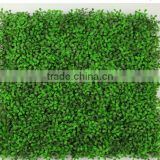 2017 New Design Wholesale Artificial Hedge Artificial Grass Wall /artificial green wall /plastic green wall