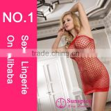 2015 newest design Europe syle women sexy red night lingerie fat women sexy tight lace dress sexy clubwear