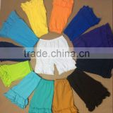 Cheap China Wholesale summer cute girls 100% cotton ruffle solid short fashion little baby short pant