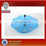 3 fold cheap promotion advertising umbrella