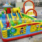 HI Kids games inflatable amusement park equipment, outdoor inflatable playground for sale