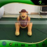 Laying Yellow Cute Hongyi Inflatable Lion Baby Sit Bouncing Animal Toy