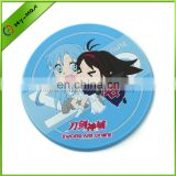 fancy cartoon soft PVC sword art online coaster
