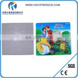 Photo puzzle for sublimation printing