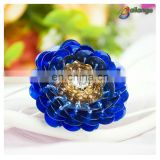 Bailange beautiful blue color garment accessories beaded suit buttons