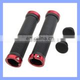 Lock On Handle Durable Anti Slip Mount Bike Rubber Hand Grip
