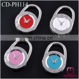Portable Clock Bag Hanger with Stones CD-PH114