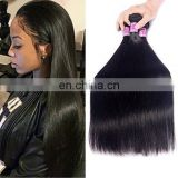 Crochet hair extension silky straight brazilian virgin hair