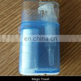 Mini Disposable Magic Compressed Coin Tissue Towel For Travelling