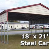 Design regular roof type steel carports car cover shed china supplier