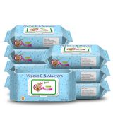 flushable baby wet wipe tissue with low price