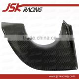 FOR EVO 9 EXHAUST VA STYLE CARBON FIBER REAR BUMPER EXHAUST HEAT SHIELD FOR MITSUBISHI LANCER EVO 9 (JSK200605)