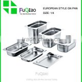 1/4 European style stainless steel GN PAN ,gastronorm pan,food pan for hotel                                                                         Quality Choice