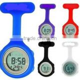 multicolors popular silicon digital nurse watch