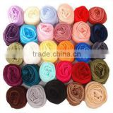 Large wholesale cheap solid color scarf