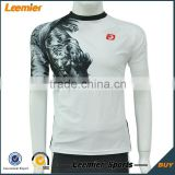 Sublimation compression tights custom printing compression tshirt