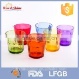 High quality Decorative colored crystal custom printed coffee mug