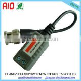 1 CH Passive Twisted Pair BNC Male Video Balun Transceiver for Surveillance Cameras                                                                         Quality Choice