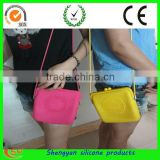2012 Newest fashion womens rubber silicone cosmetic bag