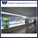 Indoor & Outdoor High Brightness Airport Advertising Light Box Clip Frame Back lit LED Canvas Print Sign Banner