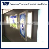 Ultra large size waterproof LED light box, Outdoor led advertising light box waterproof single side slim with lock