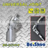 "Adjustable Chrome Vanadium 1/4""Dr Universal Joint Socket Wrench"