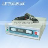 20Khz ultrasonic welding cutting machine for sealing sewing nonwoven fabrics plastic pvc polyethylene with horn head