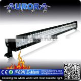 AURORA unique design High optical efficiency Aurora 40inch 400W light bar jeep parts china
