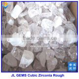 Lab Created superior white CZ / cubic zirconia rough/ Raw Material for jewelry