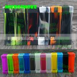 Microsmoke 19 beautiful colors smoke xcube mini 75w tc box mod silicone case/skin/sleeve/sticker/cover/enclosure/decal/wraps